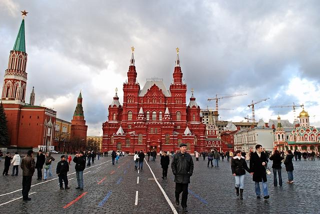 красная площадь - фотографии