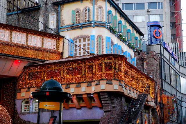Москва, Старый  Арбат, кафе