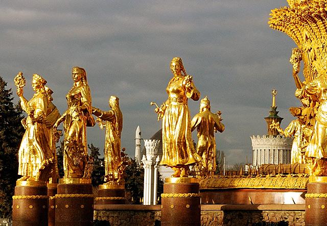 фонтан Дружбы народов на ВДНХ, фото