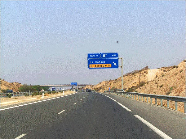 almeria highway road spain