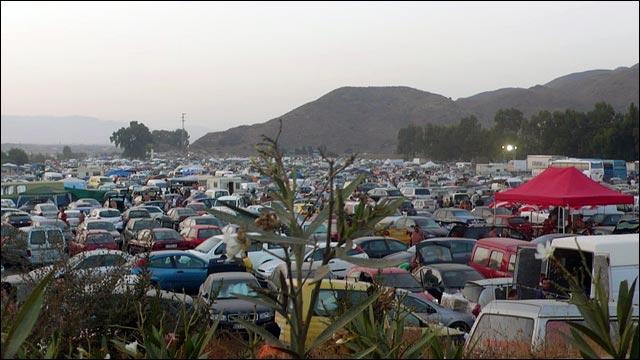 creamfields parking