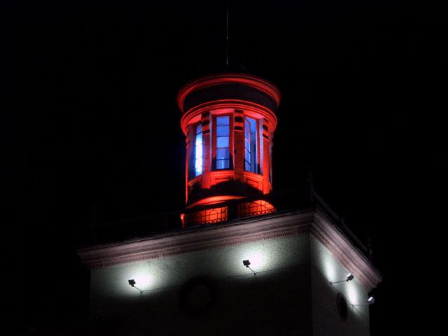 ночные фотографии города Запорожье