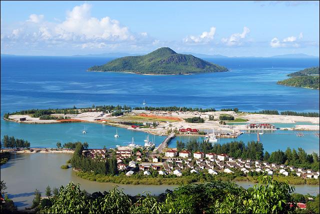 насыпные острова Сейшел